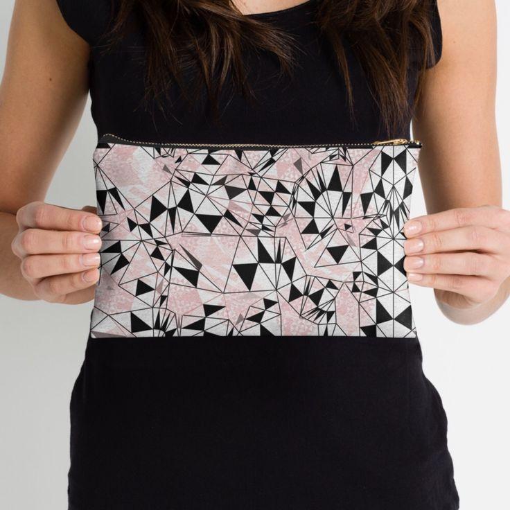 Veata Atticus Store | Redbubble | studio pouch, make up bag, accessories bag
