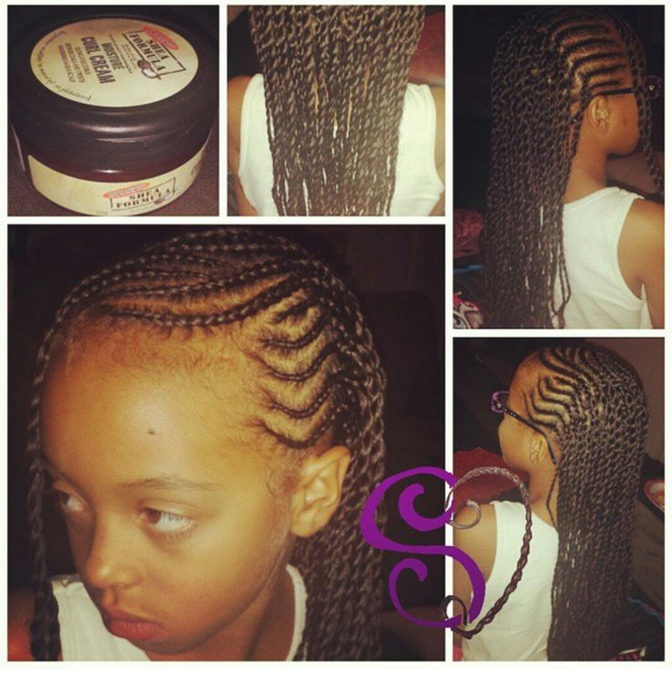 Cool 1000 Images About Little Hair On Pinterest Cornrows Black Short Hairstyles Gunalazisus