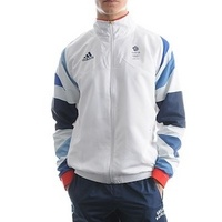 Adidas London 2012 Team GB Training Jacket  £70.00    JD Sports    This replica version of the men's training jacket which will be worn by Team GB during the London 2012 Olympics. Designed by Stella McCartney for adidas it features the team GB