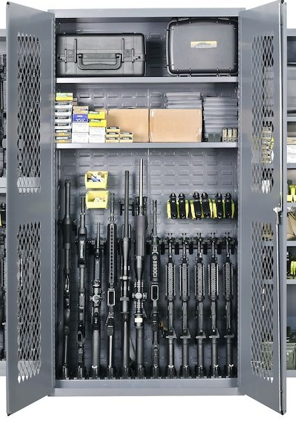 Tactical Gear Storage System Gun Room Ideas