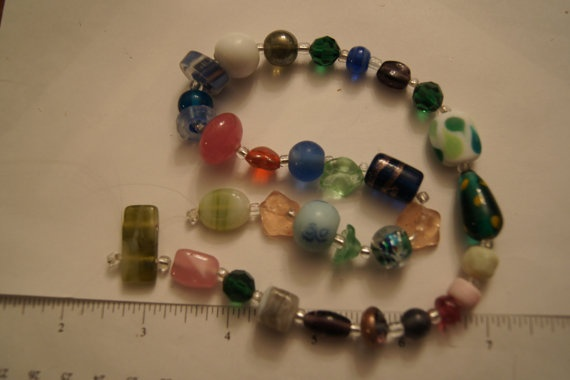Glass And Polymer Clay Multicolor And Sizes Of by Henrysbeads, $1.00
