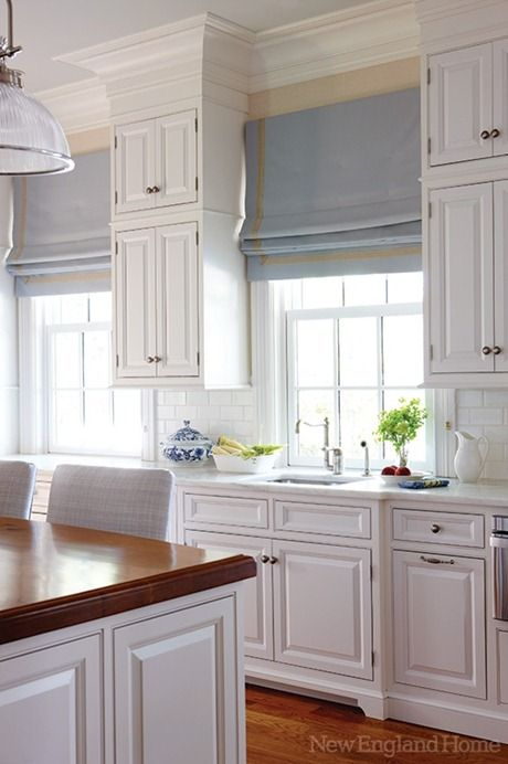 Airy, bright kitchen. Mrs Hudson will approve.