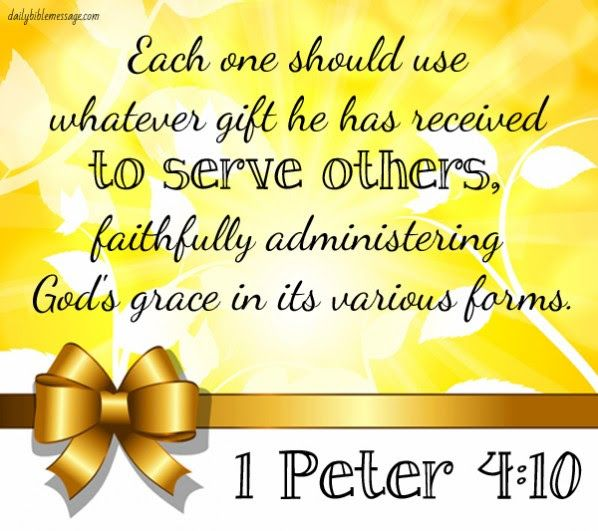 how to use the spiritual gifts