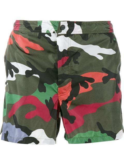 Valentino camouflage bermuda shorts