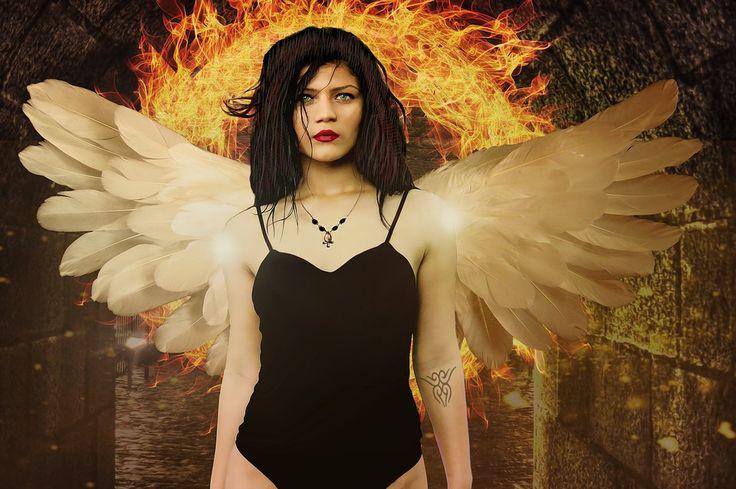 Gotik, Fantezi, Fantastik Kız, Fantezi Modeli, Melek