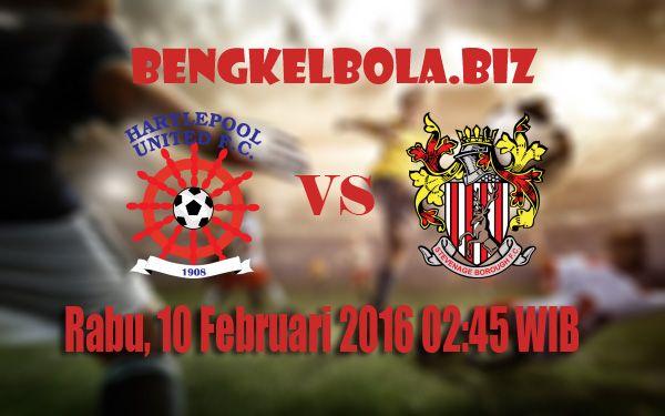 Prediksi Hartlepool United vs Stevenage FC 10 Februari 2016