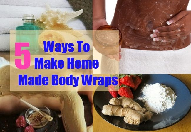 Ways To Make Home Made Body Wraps