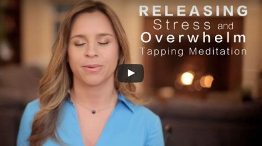 Best-Selling Author, Jessica Ortner takes you through three powerful Tapping Meditations to release stress, anxiety & anger.