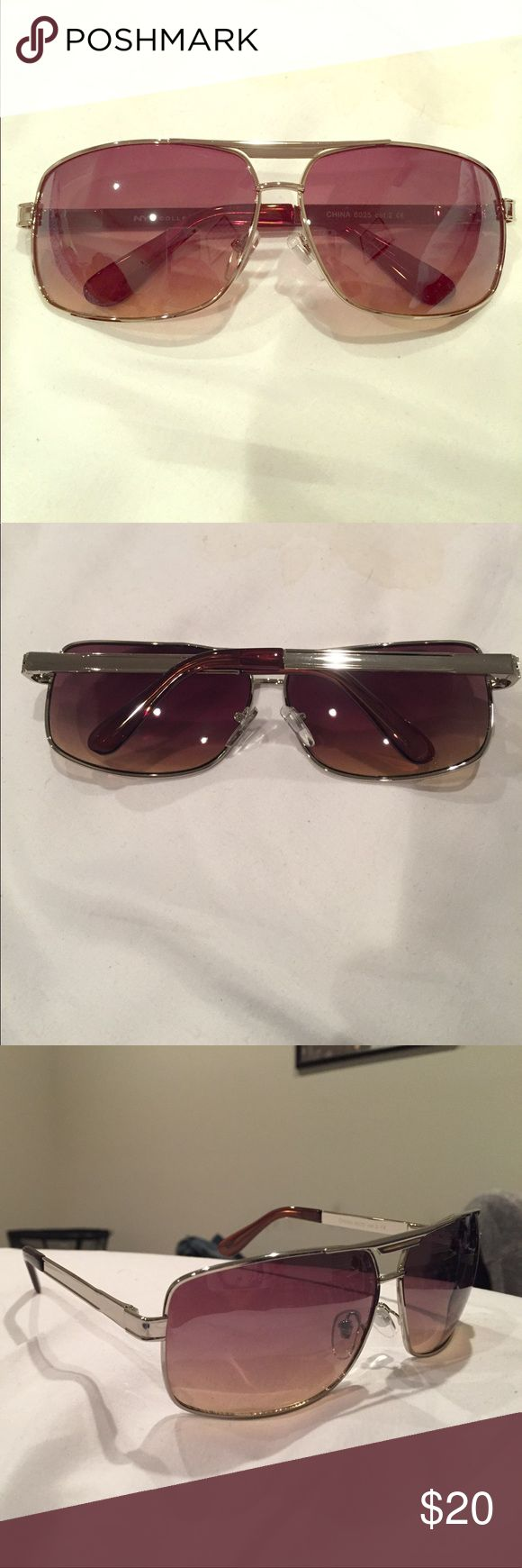 Never been worn NYS sunglasses. Never been worn NYS sunnies! Sunglasses bag included. Bought for my husband but they don't work for him. Am willing to negotiate. NYS Accessories Sunglasses