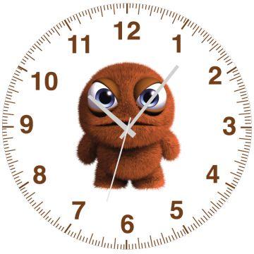 Turuncu Kıllı Canavar Saat 27 cm