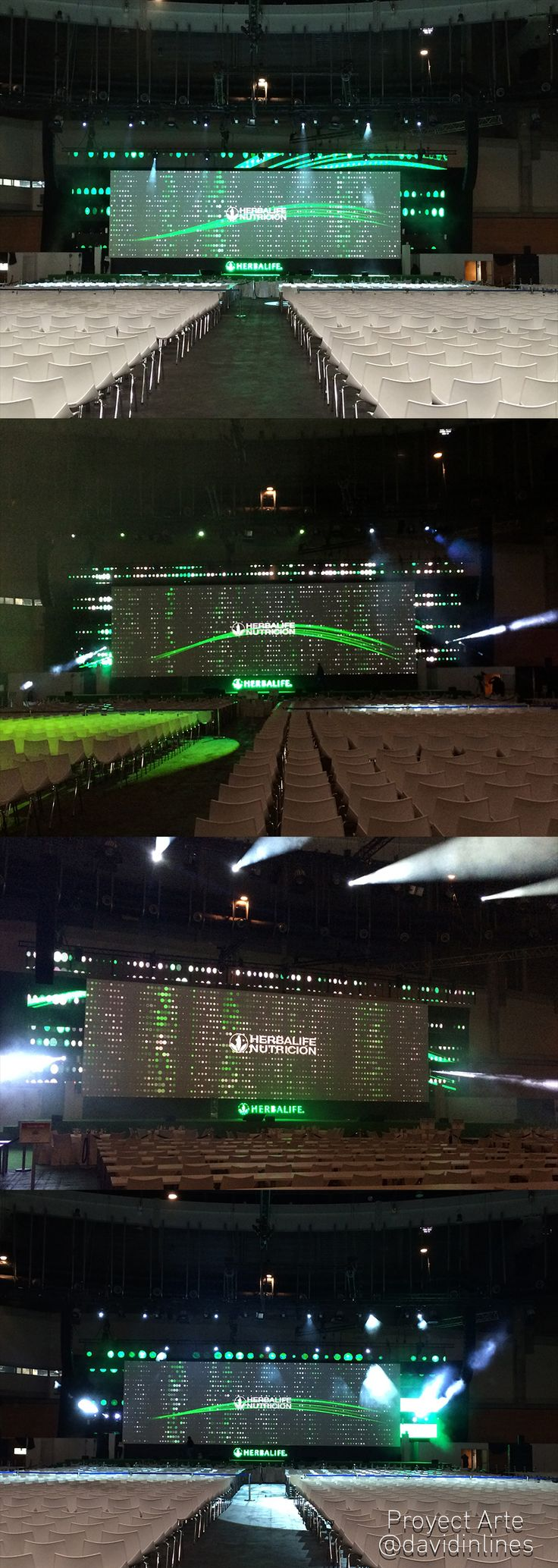 #Mapping Convention #Herbalife 2016 #Stage