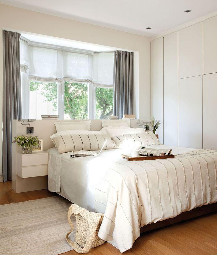 Cortina blanca barra blanca el mueble 00465065 cortinas - El mueble cortinas ...
