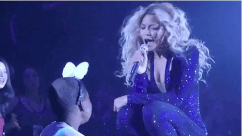 """This Video Of Beyonce Serenading Her Terminally Ill Fan With """"Survivor"""" Will Move You To Tears"""