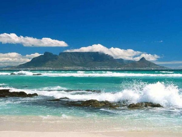 The Tafelberg, Cape Town, South-Africa. Number seven of the New7Wonders of Nature.