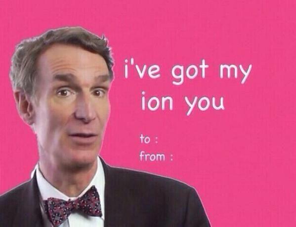 Bill Nye Valentine Ecard Literally Lol Funny Valentine Funny