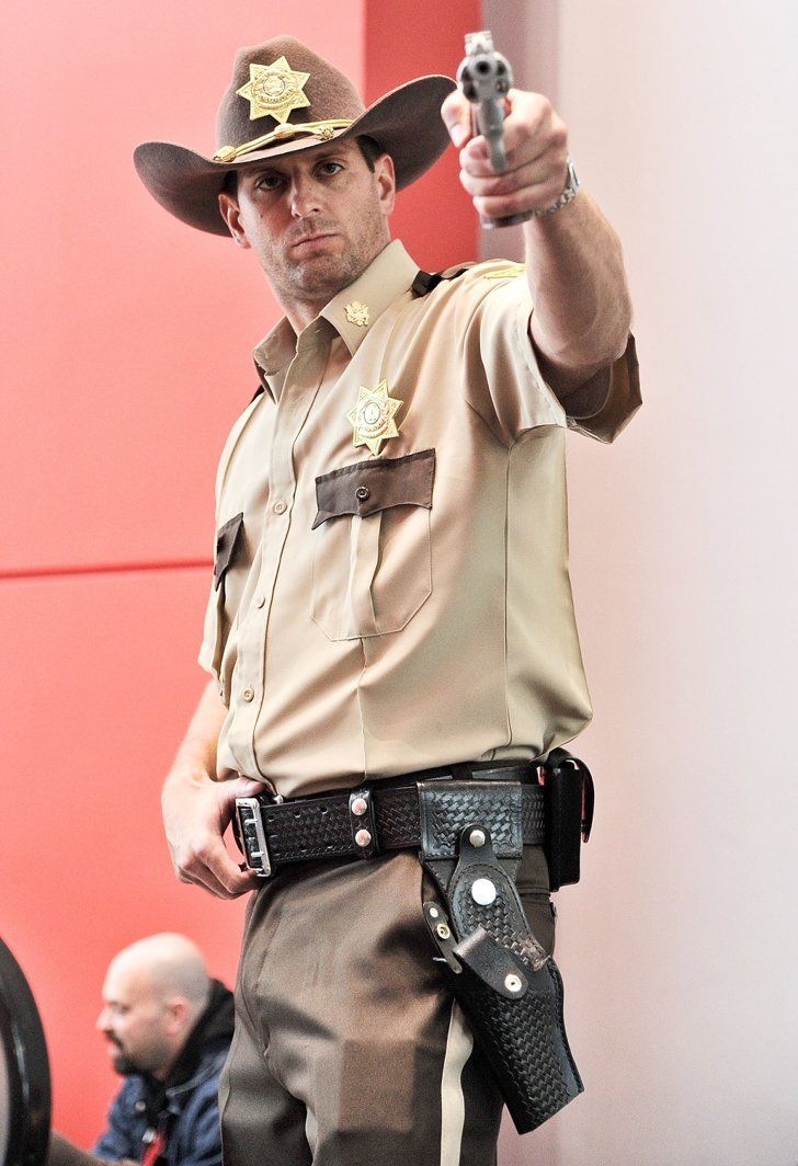 Pin for Later: The Cosplay of New York Comic-Con Was So Good Rick Grimes, The Walking Dead