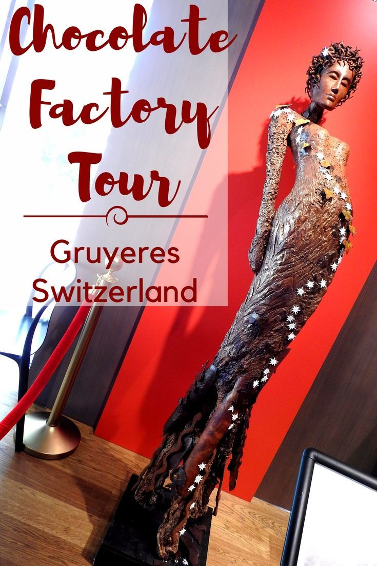A visit to Gruyeres Cailler Chocolate Factory Switzerland is one of the top things to do in Switzerland, the tour offers unlimited chocolate tasting and you can buy chocolates and souvenirs from the factory shop.