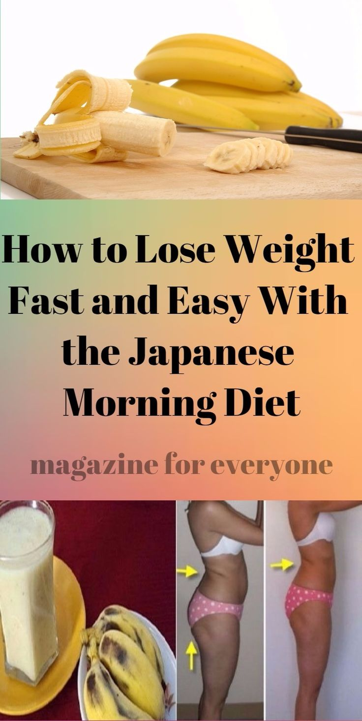 As soon as Hitoshi Watanabe published his book The morning banana diet this diet regimen became a huge international hit.