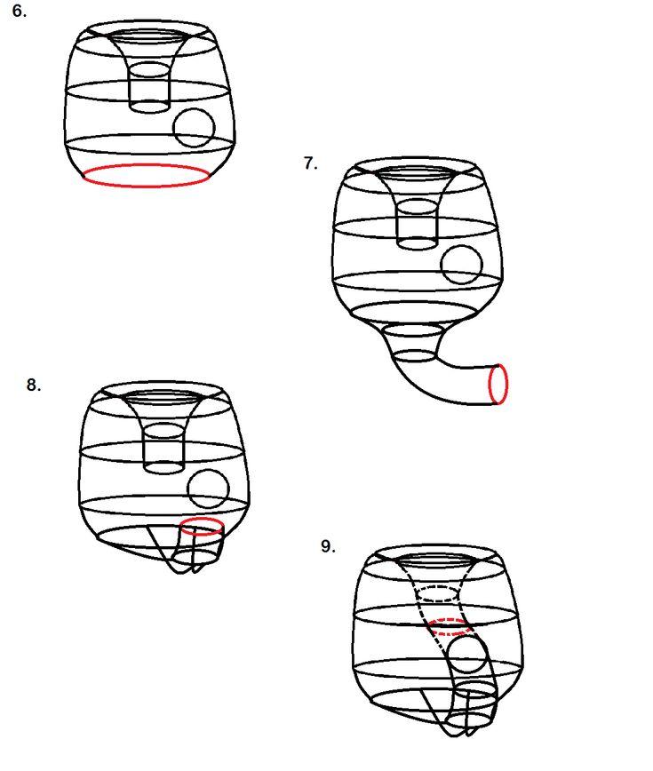 Arachne's Loom: Generalized crochet Klein bottle