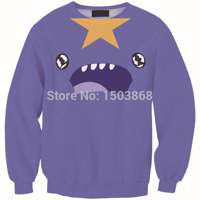 Harajuku yeux étoiles imprimer violet Hoodies femmes sport Costumes Emoji vêtements Sweatshirts Blusas Femininas