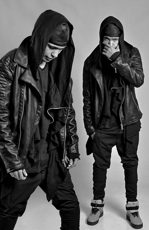 Visions of the Future: | B L V C K | Men's Street Fashion DigitalThreads.co