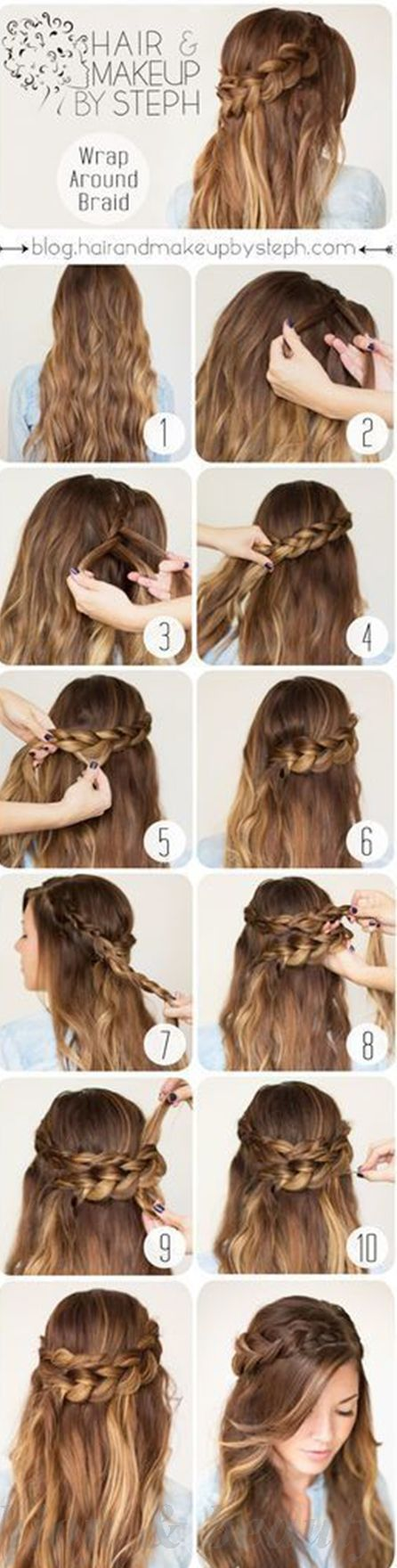 hairstyles for long hair tutorials