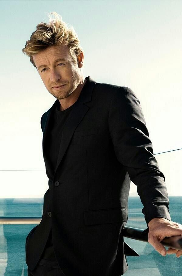 Simon Baker ... I can't take it!!! this is just too much!!!! LOVE HIM!