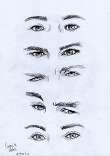 Their eyes speak.