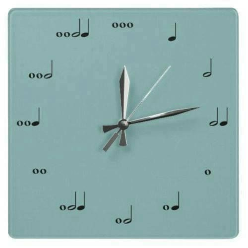 Band Nerd Clock :) we need to get this for Mr. B