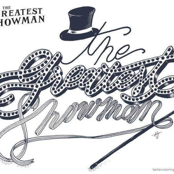 The Greatest Showman Coloring Pages Letters Art Coloring Pages Quote Coloring Pages Bubble Letters