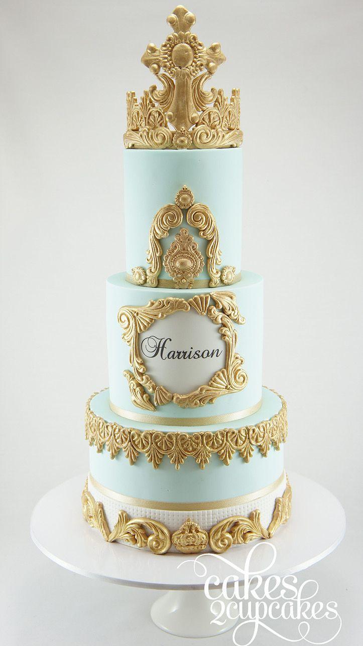 Pin by Pat Korn on Gilded Cakes | Cake, Tiara cake, Dream cake