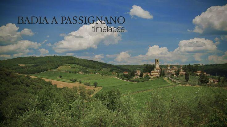 Time - Lapse - Badia a Passignano   Camera: Canon EOS 5D Mark III Obiettivo: Canon EF 85/1.2 L II USM