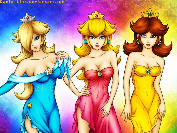Precisely does Princess peach daisy rosalina and zelda seems