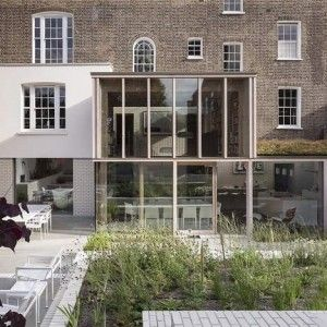 East London House by  David Mikhail Architects