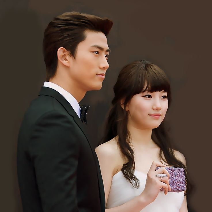 2PM Taecyeon and MissA Suzy | Suzy (Miss A) | Pinterest