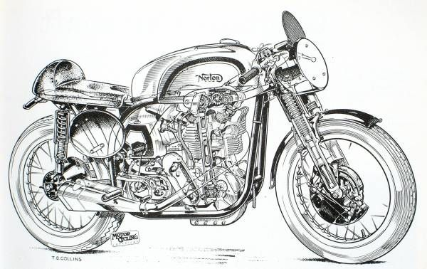 Facfd Ac Cc D C Fc Ba Bike Sketch Motorcycle Shop on Norton Engine Exploded View