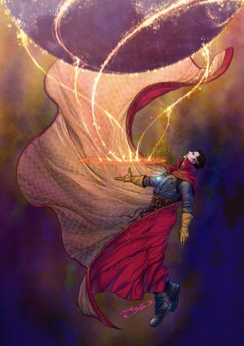 Doctor Strange / Stephen Strange fanart #marvel #benedict cumberbatch #doctor stranger