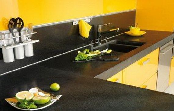 Colorful Kitchen Worktop Designs