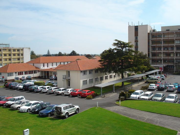 Whakatane Hospital 2011 before demolition in the December to make way for the new Project Waka development