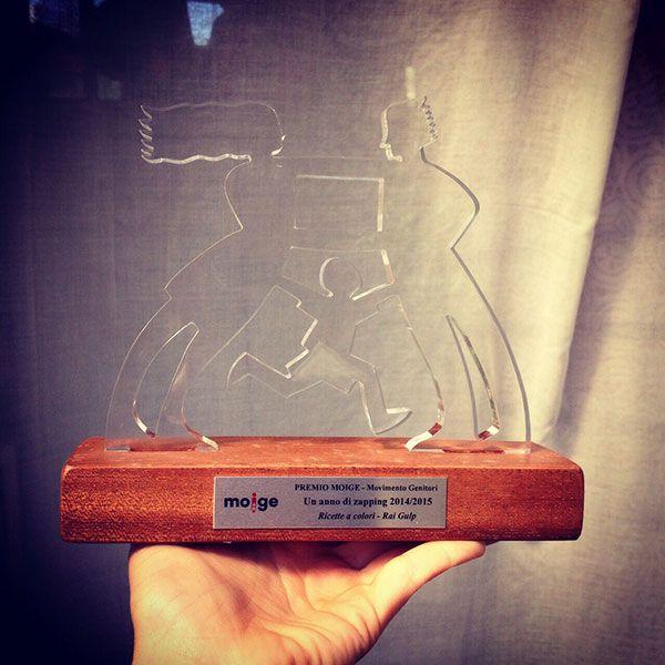 """Premio Moige 2015 al programma tv di Rai Expo """"Ricette a colori"""": perfetta sintesi tra divulgazione e animazione 3D, insegnando ai giovanissimi l'importanza della sana e corretta alimentazione. #raiexpo #expo2015 #raitv #rainbow #winx #moige #premio #italia #milano"""