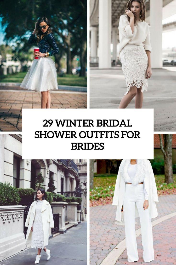 29 Winter-Brautparty-Outfits für Bräute  - Bräute, für, WinterBrautpartyOutfits - Mode Kreativ - http://modekreativ.com/2016/09/03/29-winter-brautparty-outfits-fur-braute.html