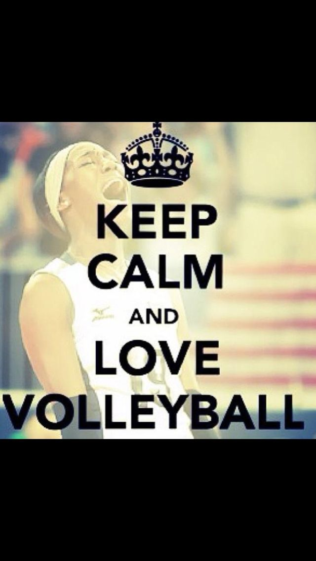 Just because I love volleyball. Played all my life and coached after high school.