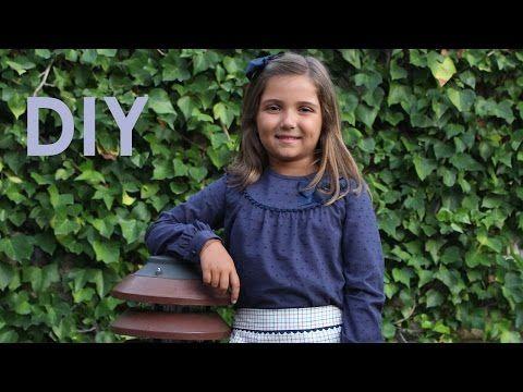 Blusa con canesú: Patrones infantiles. – Corte & Costura