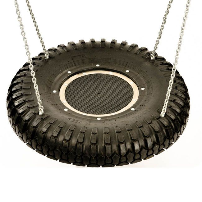 Our super truck tyre group swing seat provides an ideal replacement seat for group and gang swings.