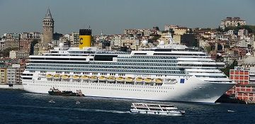 Costa Cruises cruise ship Costa Serena. Track the cruise ship, live, in real time.