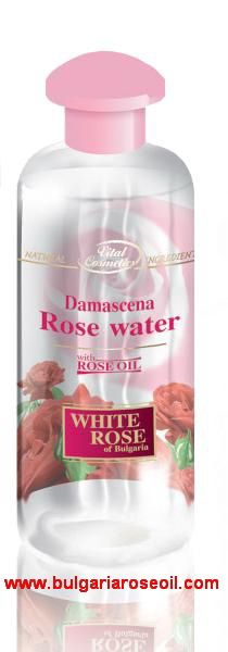 DAMASCENA ROSE WATER with unique properties - 250 ml