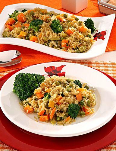 Aprenda a preparar um risoto vegetariano Receitas Light