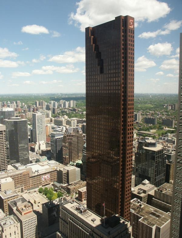 Scotia Plaza - piece of the past. I worked on the 33rd and 34th floor in the early 90's.