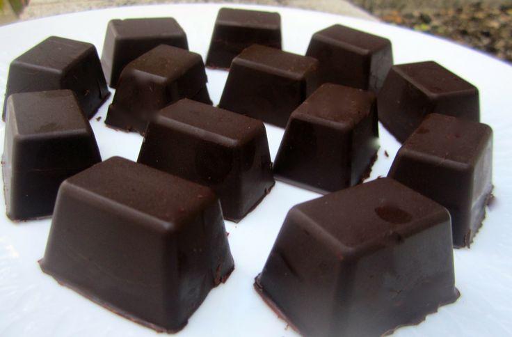 Bombones de chocolate de el forner de Alella, si quieres ver la receta http://youtu.be/o-EWfPw7VDE