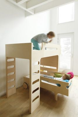 Beautiful bunk beds.